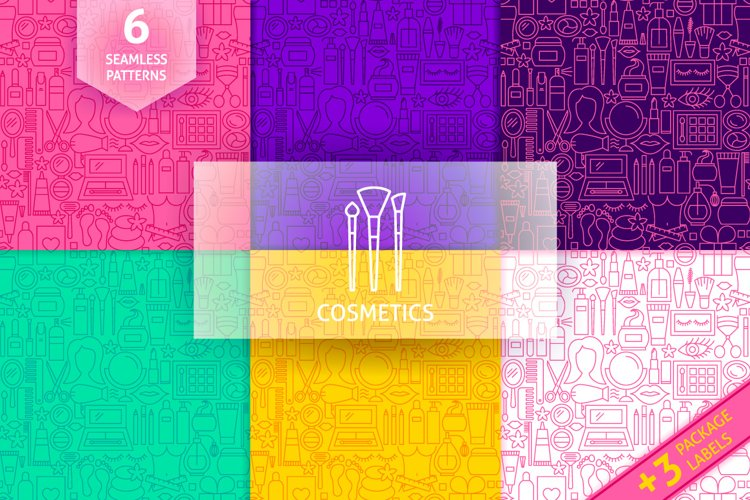Cosmetics Line Tile Patterns example image 1