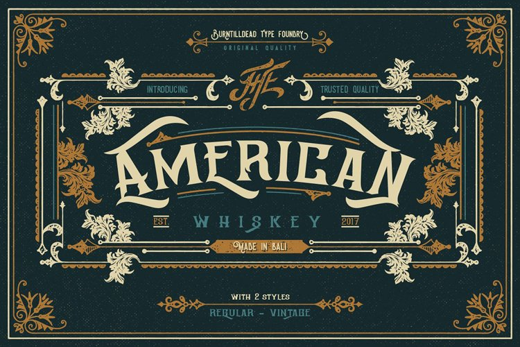 American Whiskey example image 1