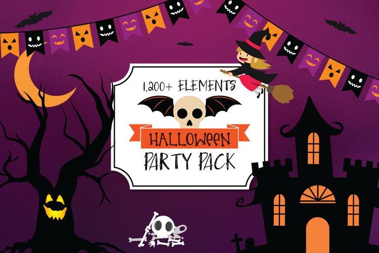 Mega Huge Halloween Art Bundle