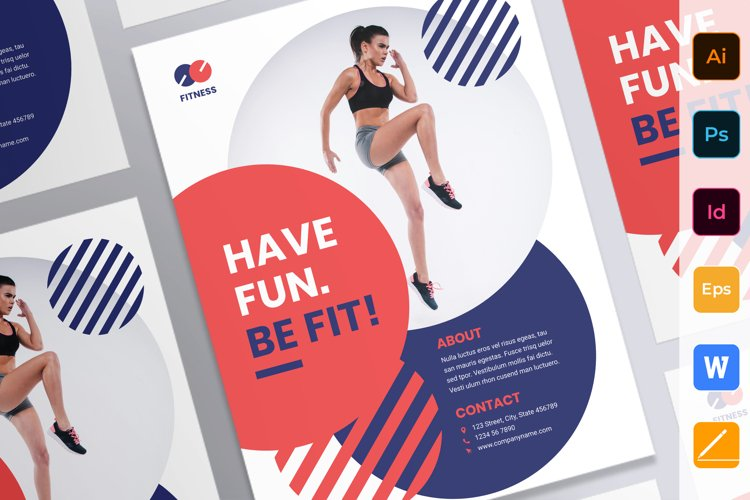 Fitness Trainer Coach Poster example image 1