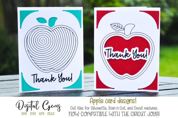 Thank you teacher cards! Now Cricut Joy ready!