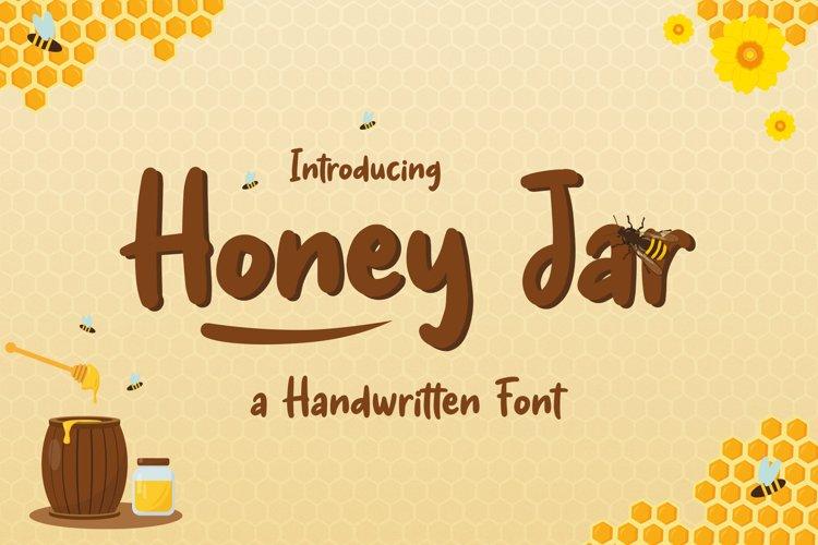 Honey Jar - Fancy Honey Farm Font example image 1
