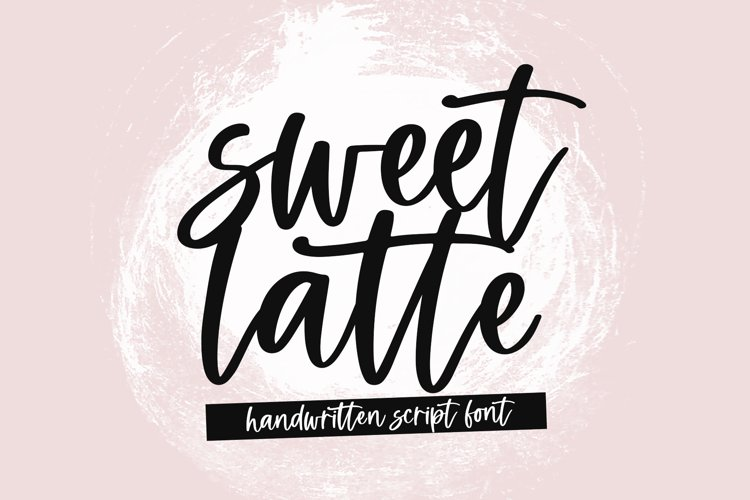 Sweet Latte - A Handwritten Script Font example image 1