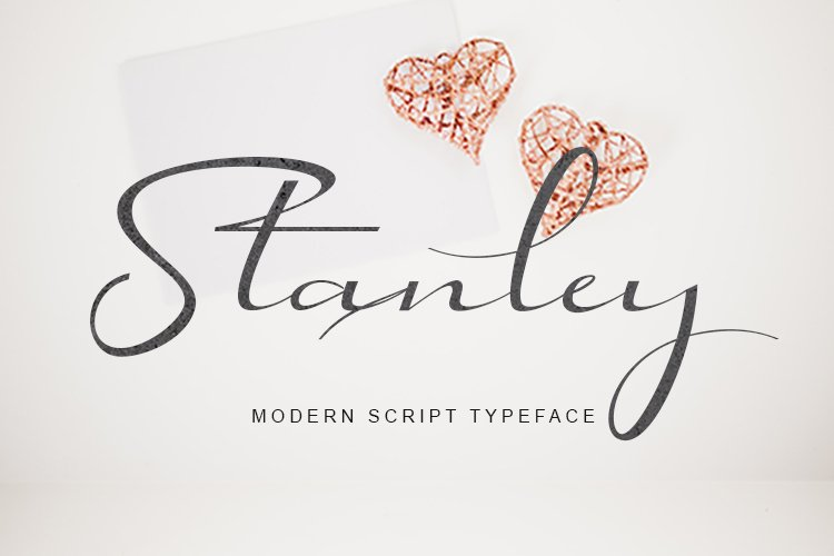 Stanley | Modern Script Typeface example image 1