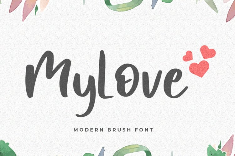 MyLove Font example image 1