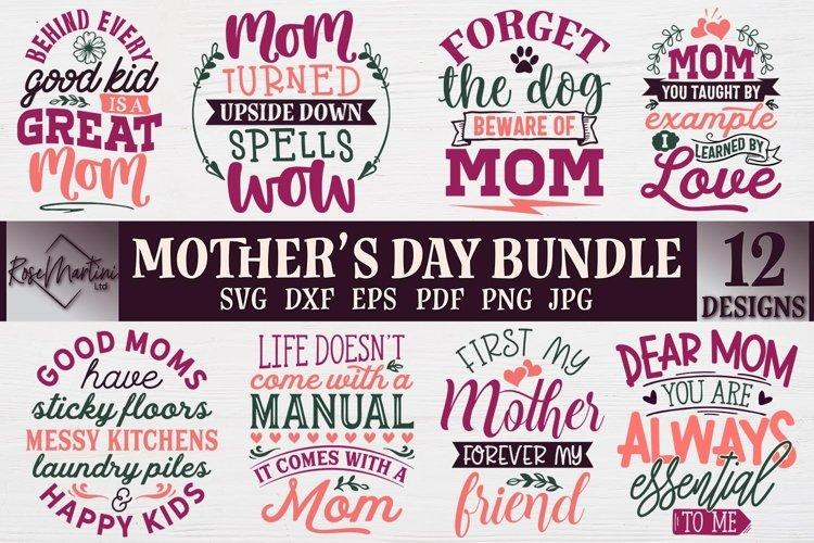 Mothers Day Bundle SVG 12 designs Mothers Day SVG