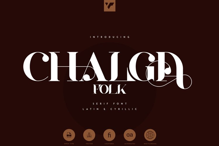 Chalga Folk Edition - Serif font example image 1