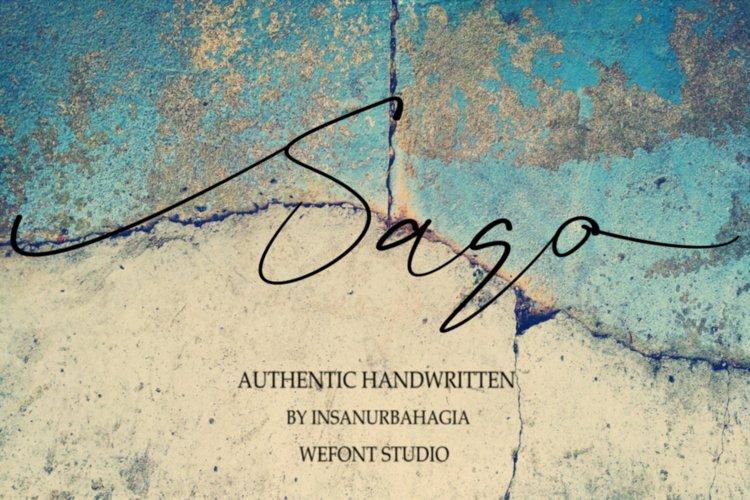 sago example image 1