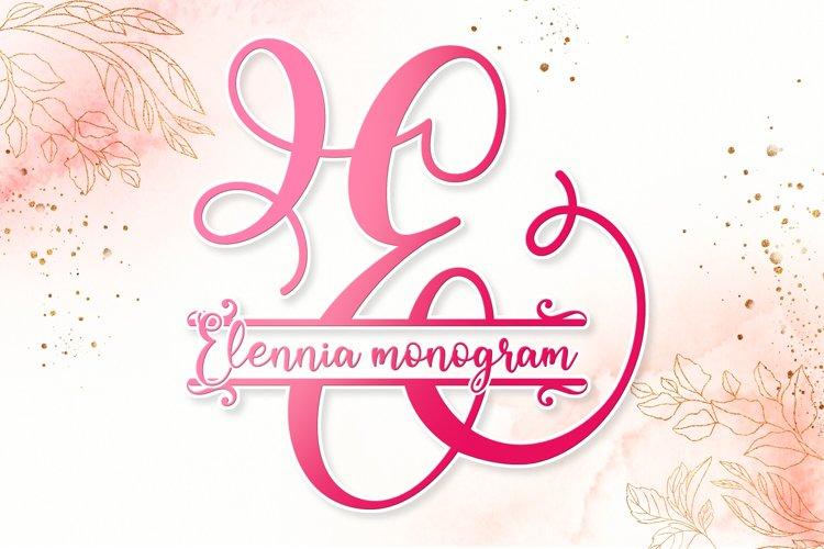 Elennia monogram example image 1
