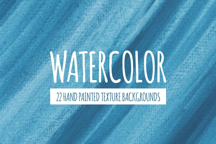 22 Blue Watercolor Texture Backgrounds