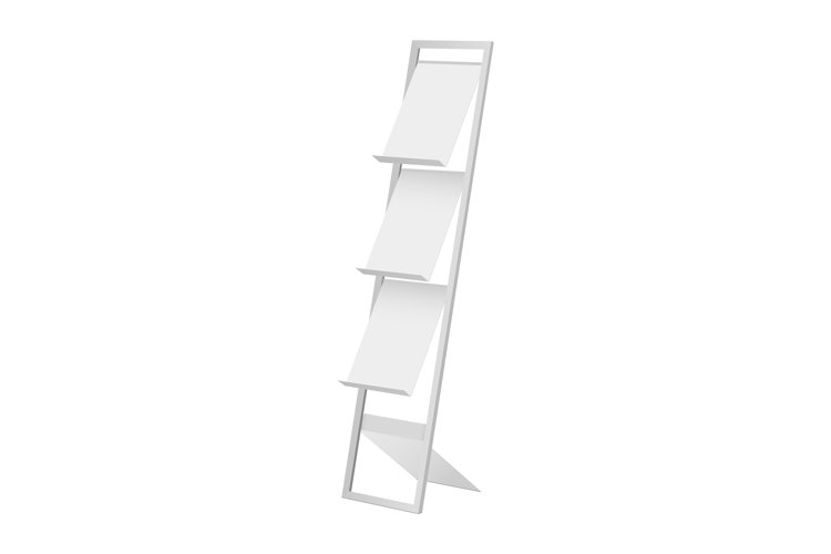 Display stand for brochure, magazine, leaflet example image 1