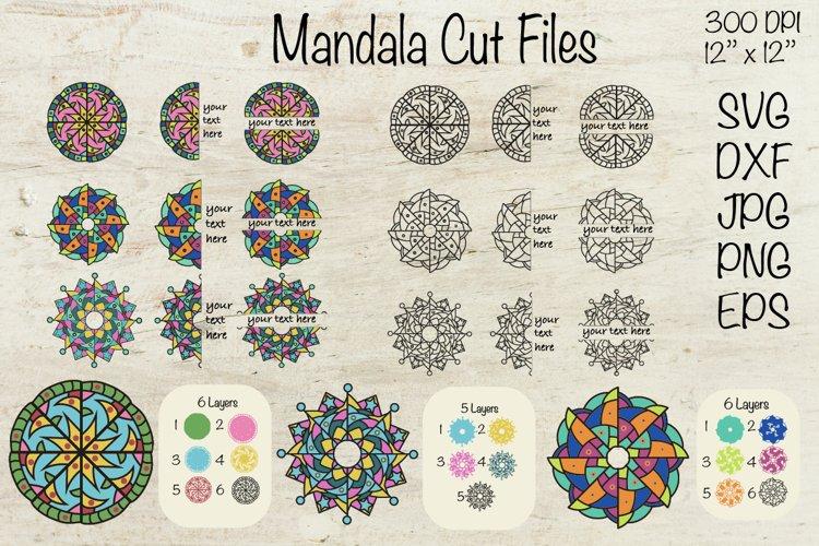 Download Mandala Svg 3d Mandala Cut File Layered Mandala 926153 Cut Files Design Bundles