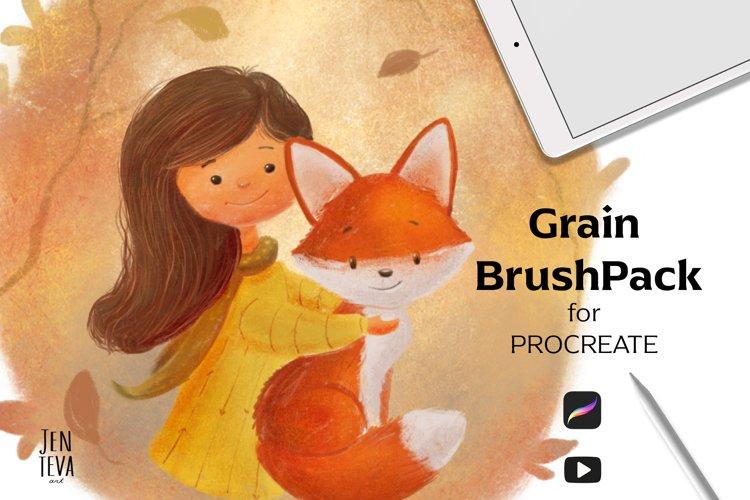 Procreate Texture brushes example image 1