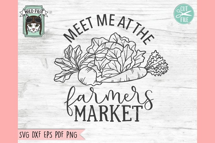 Farmers Market Cut File, Farmers Market SVG, Kitchen SVG