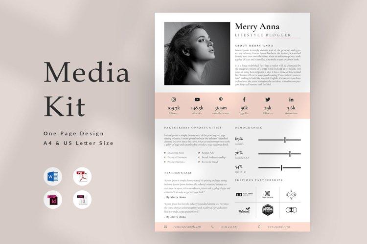 Influencer Media Kit