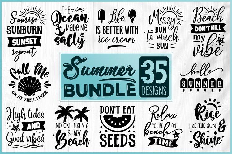 Summer SVG Bundle - Beach SVG Bundle - Vacation SVG Bundle