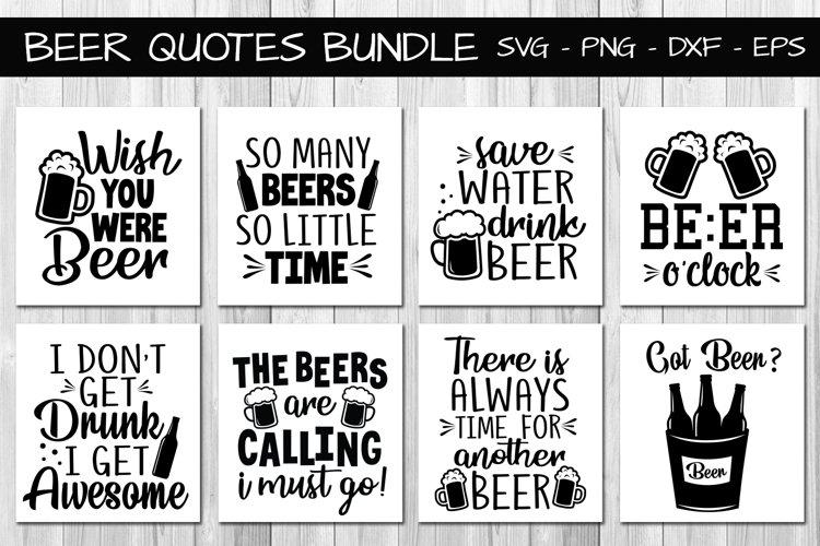 Beer Quotes Bundle Svg