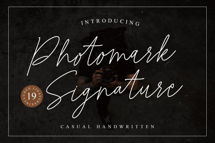 Photomark Signature example image 1