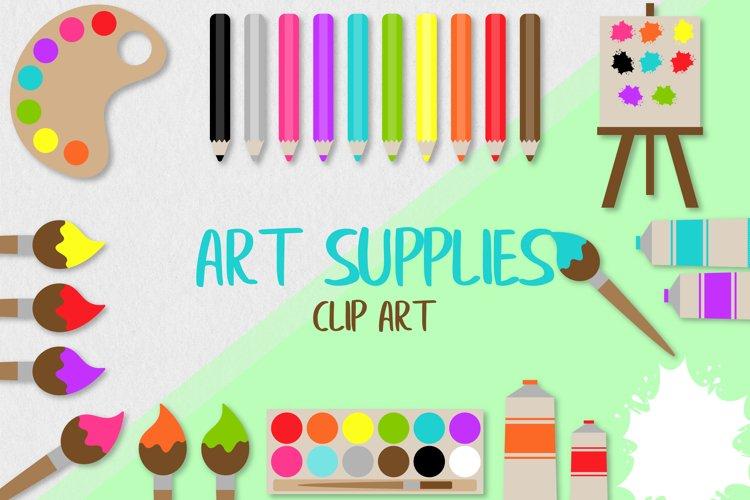 Art Supplies Clip Art example
