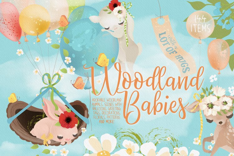 Woodland Babies example image 1