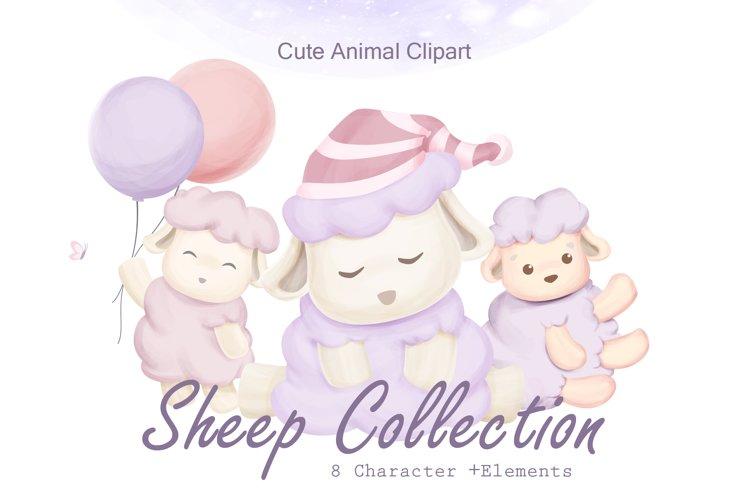 Sheep Animal Clipart