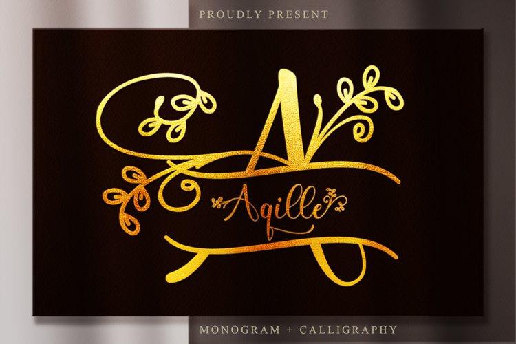 Aqille Monogram example image 1
