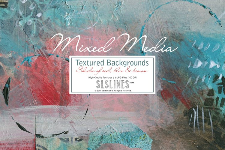 Textured Mixed Media Backgrounds