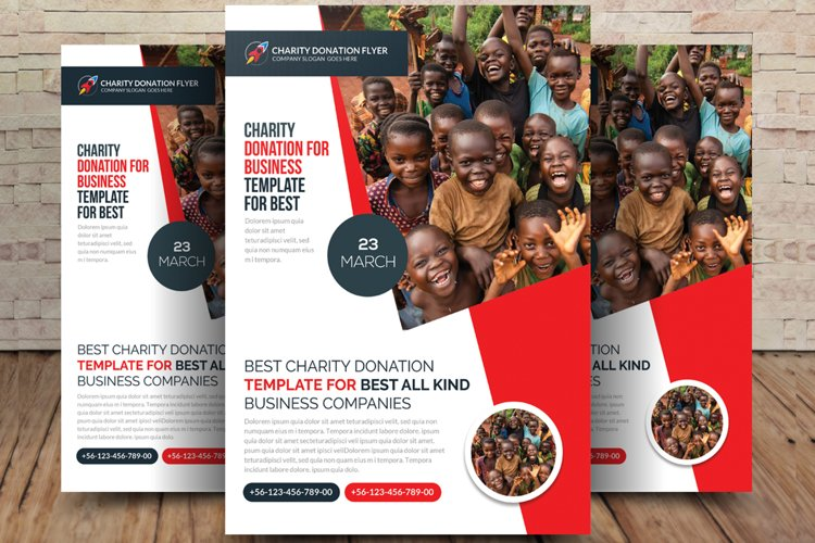 Charity Donation Flyer example image 1