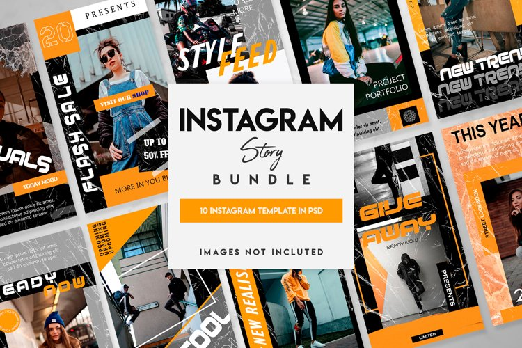 10 instagram story template example image 1