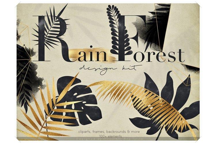 Rain Forest - Tropical Design Bundle example image 1