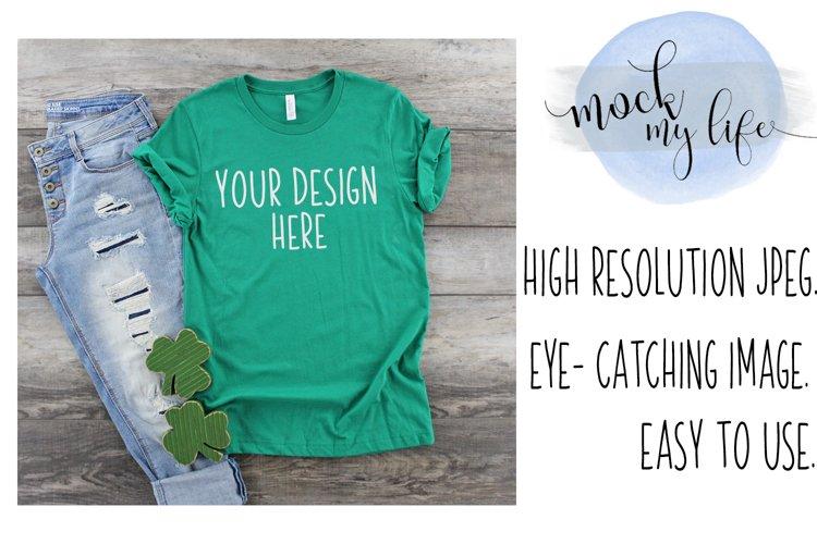 Bella Canvas Mockup / Plain Shirt Mock up example image 1