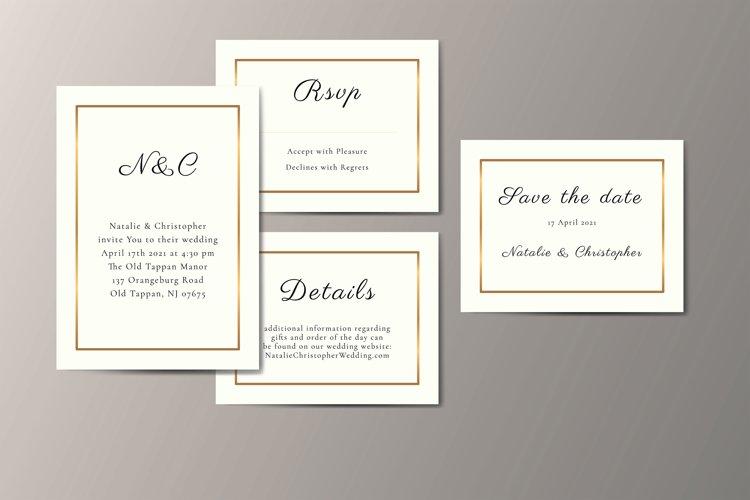 Minimalist Wedding Suite example image 1