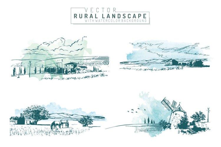 Vector Rural Landscapes