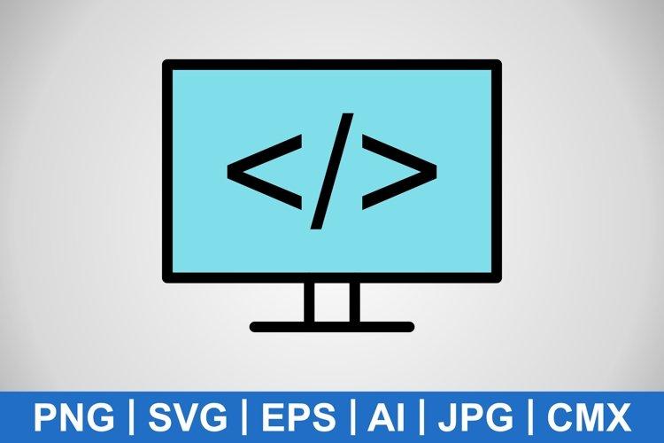 Vector Programming Icon example image 1