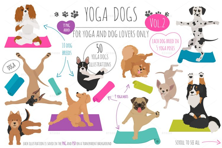 Yoga dogs collection vol.2 example image 1