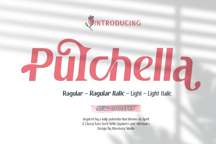 Pulchella Bold Serif Font | New Updates