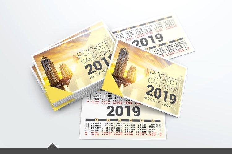 Pocket Calendar Mockups example image 1