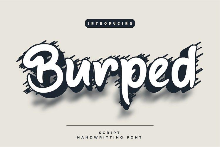 Burped example image 1