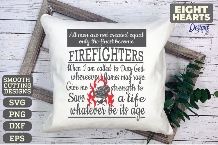 Firefighters - SVG PNG DXF