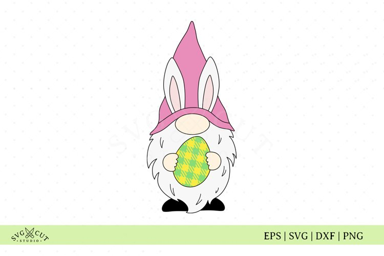 Easter Egg Gnome SVG Cut Files