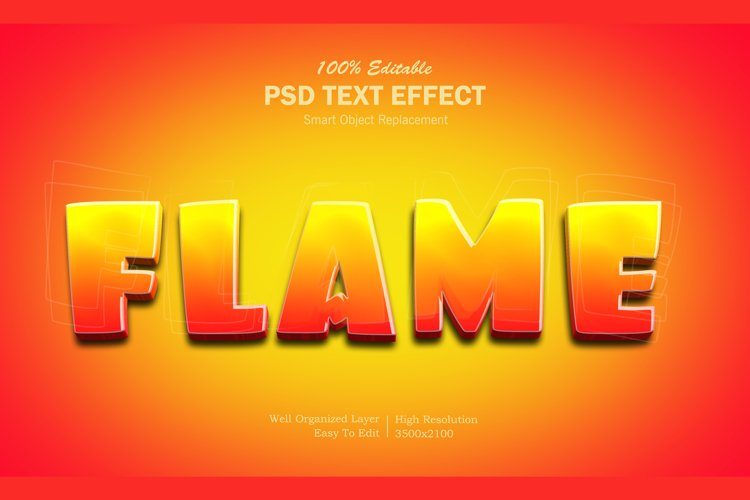 Fire Text Effect example image 1