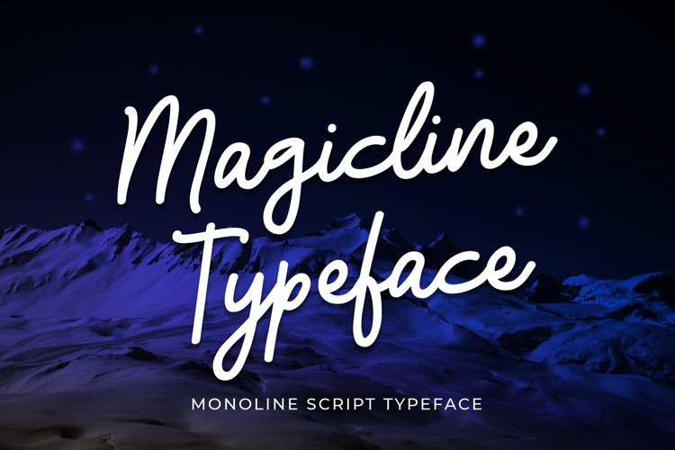 Magicline Typeface