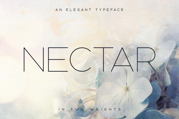 Nectar Typeface example image 1