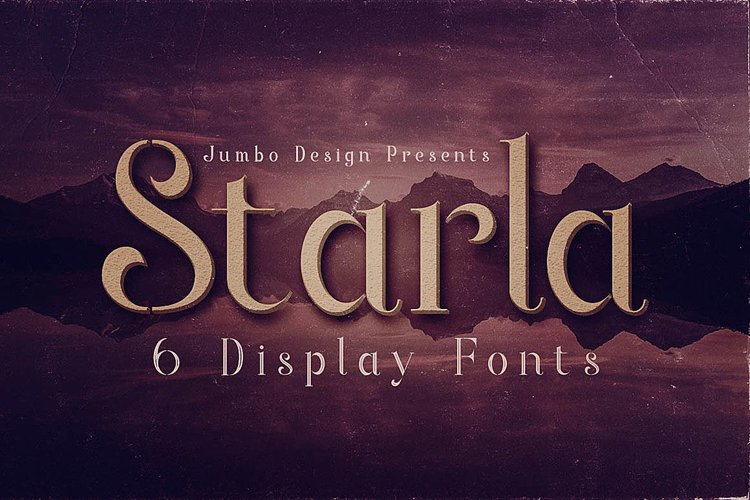 Starla - Display Font example image 1