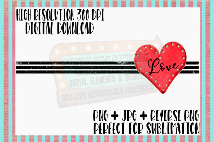Love Sublimation Digital Download example image 1