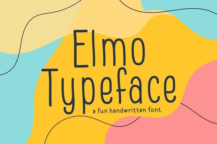 Web Font Elmo example image 1