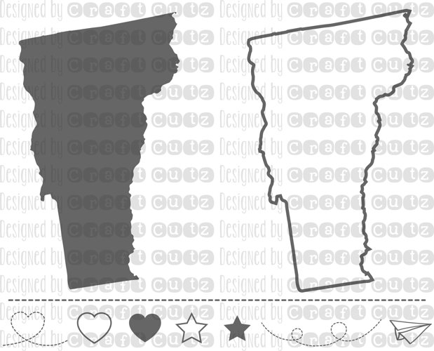 VERMONT svg, State svg Files, Vermont Vector, United States svg, State Clip Art, Vermont Cut File, Vermont State Outline example image 1