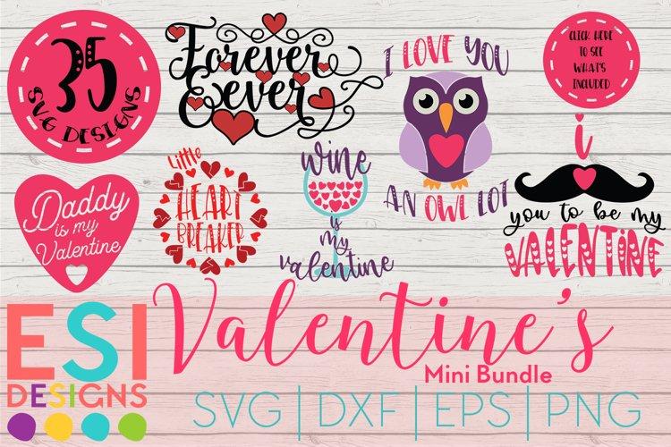 Valentine's SVG Bundle | SVG DXF EPS PNG example image 1