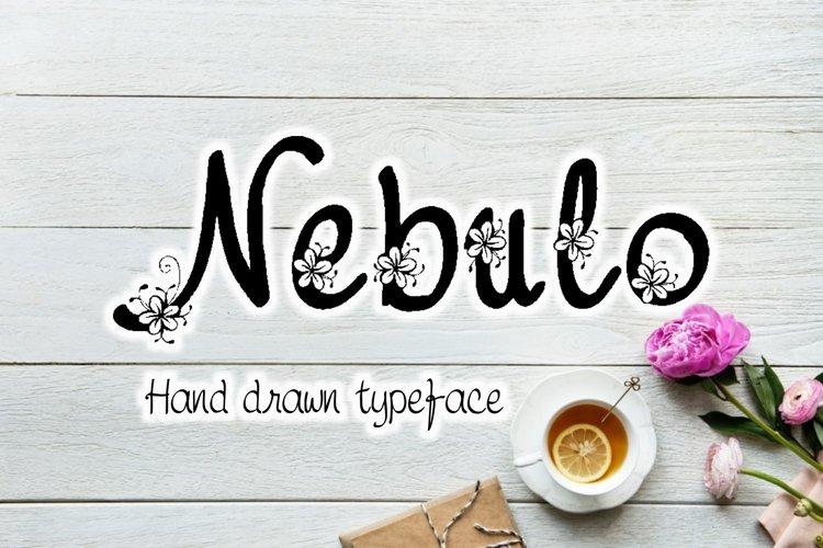 Nebulo font example image 1