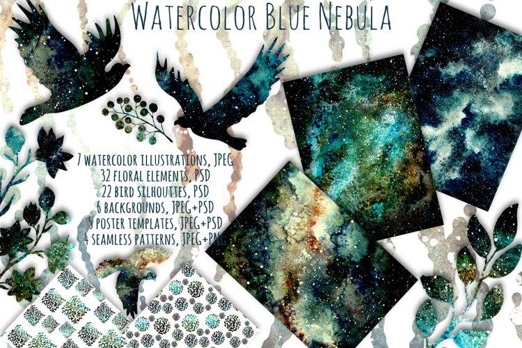 Blue Nebula Set example image 1